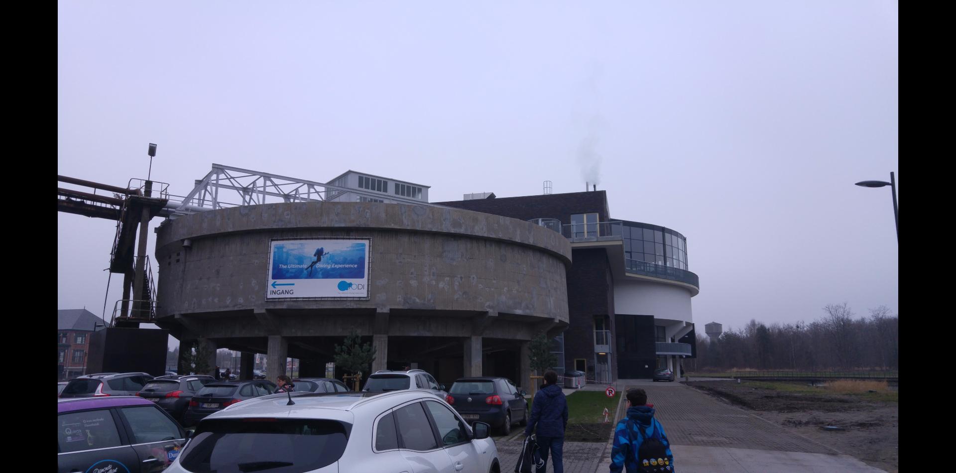 Gedaan: indoor duiken bij TODI